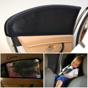 Car Sun Shades for Baby- Block UV Rays - Protect Your Child And Pets-2 Packs