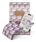 Milkbarn Newborn Keepsake Set Lavender Hedgehog