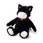 Warmies Cosy Plush Black & White Cat Microwaveable Soft Toy