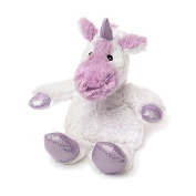 Warmies Cosy Plush Sparkly Limited Edition White Unicorn Microwaveable Soft Toy