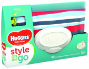 Huggies Style On The Go Pouch and Refill Pack