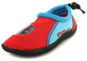 New Younger Boys/Childrens Red/Blue Spiderman Aqua Shock/Wet Shoes. - Red/Blue - UK SIZES 6-11