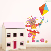 Upsy Daisy with kite wall sticker (Large size) | Official In the Night Garden wall sticker