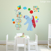 Igglepiggle play wall sticker (Large size) | Official In the Night Garden wall sticker