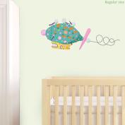 Pinky Ponk wall sticker (Regular size) | Official In the Night Garden wall sticker