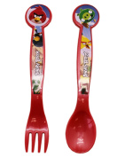 Angry Birds Toddler Fork and Spoon