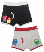 Boys Boxers Toddler Training Underwear with EZ Pull UP Handles, Tag less