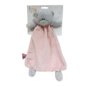 Tiny Tatty Teddy Pink Deluxe Baby Comforter