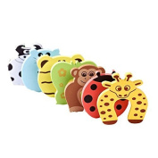 HELLODD Baby safety Door Stoppers - 7 Different Animal designs