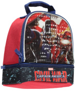 """Captain America """"Civil War"""" Insulated Lunchbox - black, one size"""