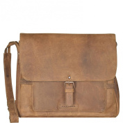 Harold's Antik Casual Messenger Leather 33 cm nature