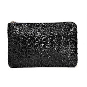 Anself Women's Dazzling Glitter Sparkling Bling Sequins Handbag Clutch Evening Party Bag