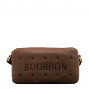 Bourbon Biscuit Brown Leather Cross Body Bag / Handbag by Yoshi