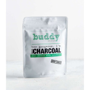 Buddy Scrub Activated Charcoal Exfoliating Body Scrub. An all natural, cruelty free and vegan friendly body scrub that will exfoliate, nourish and moisturise your skin.