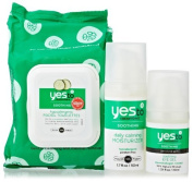 Yes To Cucumbers Ultimate Calming Facial Kit, 3 Count by Yes To Carrots
