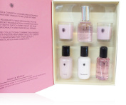 Pecksniffs Rose & Peony Luxury Pamper 6 piece Set.