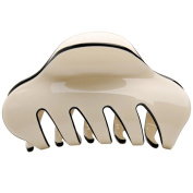 Korea Style Acrylic Hair Claw Hair Crab Clamp Ponytail Holder Solid Plain Hair Clip Barrettes Headpiece
