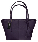 Tibes Ladies PU Leather Handbag Tote Bag