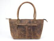 Scaramanga Brown Leather Handbag