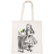 Batch1 Alice In Wonderland The Looking Glass Drink Me Bottle Tote Bag Shopper
