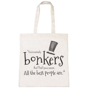 Batch1 Alice Through The Looking Glass You're Entirely Bonkers Tote Bag Shopper