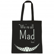 Batch1 Alice Through The Looking Glass Movie We're All Mad Tote Bag Shopper