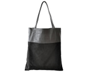 Luxe Book Bag - Black
