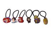 AVIRGO 6 pcs Elastic Hair Bands Hairband Hairbands Ponytail Holders Set # 192 - 5