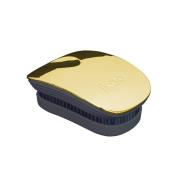 ikoo pocket brush for long hair Black - Soleil Metallic