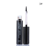 Liphop Long Lasting Waterproof Brown Black Peel Off Dye Eyebrow Gel 3#