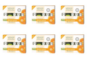 (6 PACK) - Andalou Get Started Brightening Kit   5 Piece Pieces   6 PACK - SUPER SAVER - SAVE MONEY