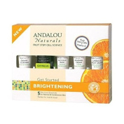 (10 PACK) - Andalou Get Started Brightening Kit | 5 Piece Pieces | 10 PACK - SUPER SAVER - SAVE MONEY
