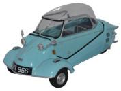 Oxford Diecast 18MBC004 Messerschmitt KR200 Bubble Top Light Blue