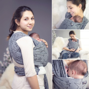Hoppediz Stretchy Sling for Early and Babies with English
