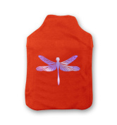 Opal Dragonfly Hot Water Bottle Cover