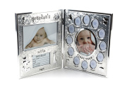 Hugs & More First Year Photo Frame/Birth Record Baby Gift Set