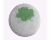 SpaGlo® Activated Charcoal and Tea Tree Oil Bath Bomb- Giant 240ml size, Made with Natural & Organic Ingredients
