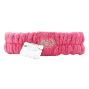 Bella Il Fiore J'adore Perfectly Plush Spa Headband Hot Pink