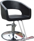 BestSalon..New Black Modern Hydraulic Barber Chair Styling Salon Beauty 21 by BestSalon