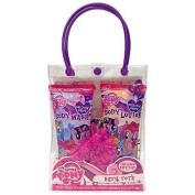 My Little Pony Gallopin' Grape Bath Tote with Body Wash , Lotion and Bath Pouffe Gift Set by MZB Accessories