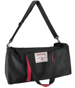 TRUE RELIGION Large Black/Red DUFFLE BAG Travel Athletic Sport Carry-On Gym by EA Fragrances Co.