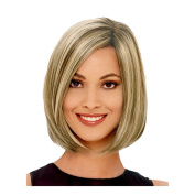 ShowStar Short Straight Bob Hair Wig 30cm Side Bang Syntheic Hair Cosplay Wigs