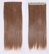 LAY Popular 70cm Straight Ash Blonde Mix Light Auburn Long New One Piece 5 Clips Clip in Hair Extension Extensios Half Full Head Hair Piece