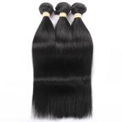 QLOVEHAIR Mixed Length 3Bundles Virgin Brazilian Straight Human Hair Extension