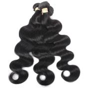 QLOVEHAIR Brazilian Virgin Hair 3 Bundles Loose wave Human Hair Virgin Hair Extension