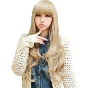 HJL-Drag Queen Wigs Flax Lolita Sex Products Rainbow Synthetic Bangs Curly Hair Wigs Ombre Wig Cheap Anime Cosplay Wigs