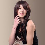HJL-Capless Especially Yours Best Cheap Synthetic Wigs for Women Long Curly Hair with Side Bangs Female Wig