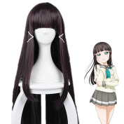 EZ2WORLD LoveLive!Sunshine!! Girls womens Synthetic Hair Costumes Wigs