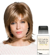 Bailey Wig by Rene of Paris, Christy's Wigs Q & A Booklet & Wide Tooth Comb colour SELECTED