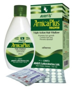 Allen's Arnica Plus Triofer - Triple Action Hair Vitalizer - 100ml + 50 Tabs